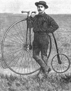 Первое кругосветное путешествие на велосипеде, Томас Стивенс