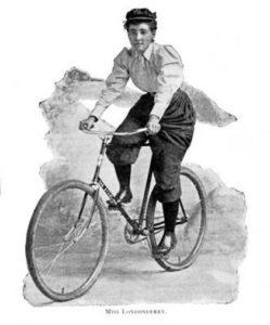 Первое кругосветное путешествие женщины на велосипеде, Анни Коэн, Анни Лондондерри