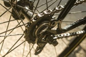 Велосипед с фиксированной передачей.