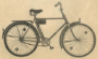 """Дорожный велосипед для взрослых с закрытой рамой """"Минск"""" 111 - 321."""