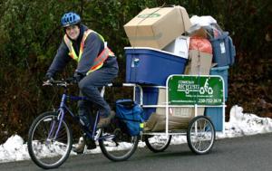 Сколько груза можно перевезти на прицепе велосипеда?
