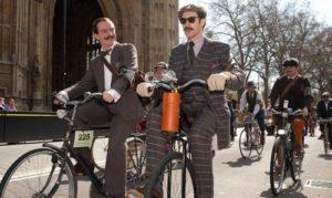 Велосипедный фестиваль Tweed Run.