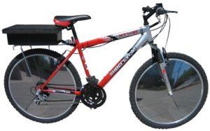 Электровелосипед на солнечных батареях E-V Sunny Bicycle.