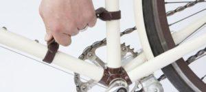 Кожаная ручка для переноски велосипеда
