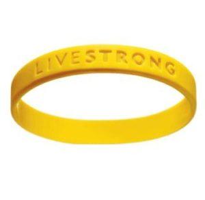 Жёлтый браслет Livestrong.