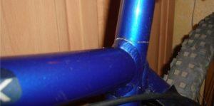Долговечность рамы велосипеда.