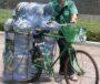 Запас воды при езде на велосипеде.