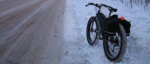 Технические моменты зимней езды на велосипеде.