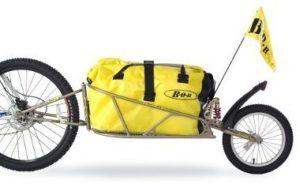 Современные прицепы для велосипедов. BoB Ibex.
