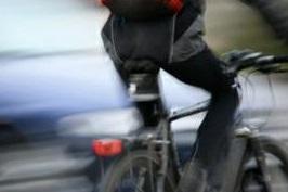 Поведение велосипедиста на дороге