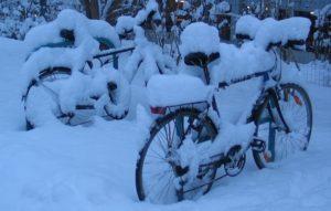 Как подготовить велосипед к зиме?