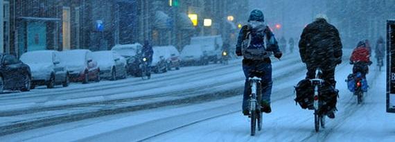 Каким должен быть велосипед для езды зимой