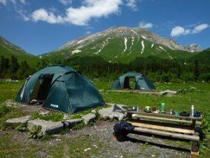 Как выбрать туристическую палатку для велопохода