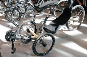 Велосипед на котором можно грести Ruder Trike