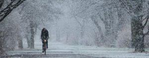 Зимние поездки на велосипеде – комфорт и безопасность