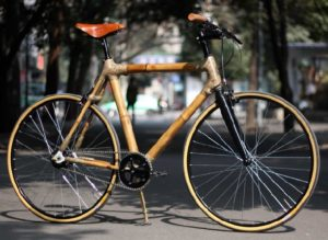 Рама для велосипеда по почте из бамбука