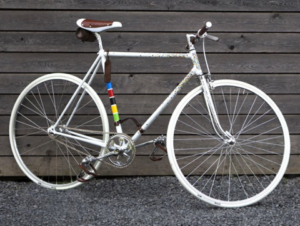Велосипед фиксед гир Vittoria fissa из прошлого