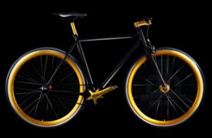 Golden Cycle Two - классический велосипед фиксед гир