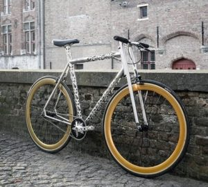 Еrembald - велосипед изготовленный лазерной резкой